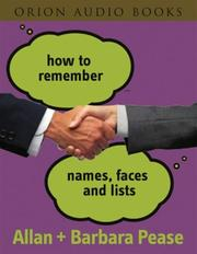 Cover of: How to Remember Names, Faces and Lists