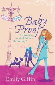Cover of: BABY PROOF