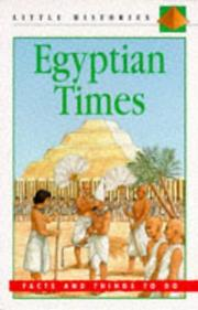 Cover of: Egyptian Times (Little Histories)