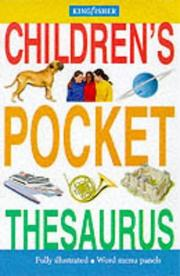 Cover of: Kingfisher Illustrated Pocket Thesaurus