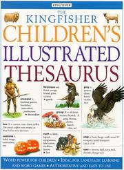 Cover of: Kingfisher Children's Illustrated Thesaurus