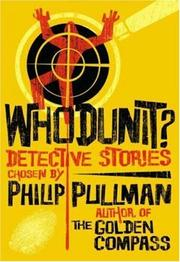 Cover of: Whodunit? | Philip Pullman
