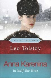 Cover of: Anna Karenina by Leo Tolstoy