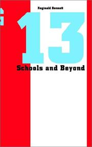 Cover of: 13 Schools and Beyond