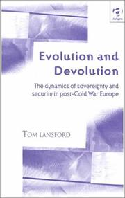 Cover of: Evolution and Devolution