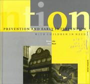 Cover of: Prevention and Early Intervention With Children in Need (Dartington Social Research Series) | Michael Little