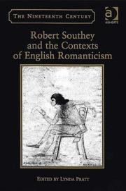 Cover of: Robert Southey And the Contexts of English Romanticism | Lynda Pratt