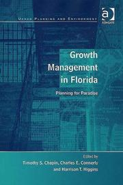 Cover of: Growth Management in Florida (Urban Planning and Environment) |