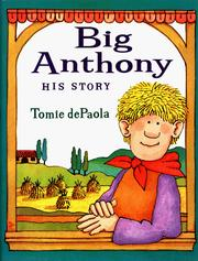 Cover of: Big Anthony: his story