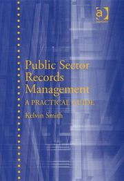 Cover of: Public Sector Records Management