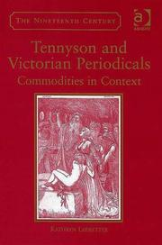 Cover of: Tennyson And Victorian Periodicals | Kathryn Ledbetter