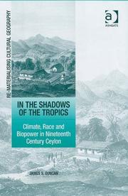 Cover of: In the Shadows of the Tropics