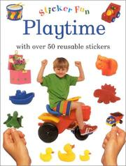 Cover of: Playtime | Editors of Lorenz Books