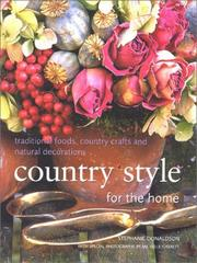 Cover of: Country Style for the Home (Homecraft) | Stephanie Donaldson