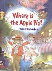 Cover of: Where is the apple pie?