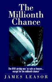 Cover of: The Millionth Chance | James Leasor