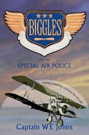 Cover of: Biggles of the Special Air Police