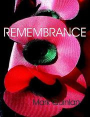 Cover of: Remembrance | Mark Quinlan