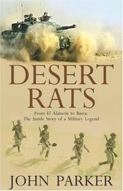 Cover of: Desert Rats: From El Alamein to Basra | John Parker