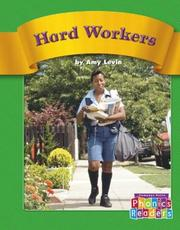 Cover of: Hard Workers | Amy Levin