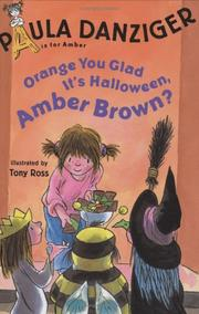 Cover of: Orange you glad it's Halloween, Amber Brown?