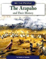 Cover of: The Arapaho And Their History (We the People)