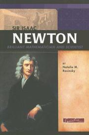 Cover of: Sir Isaac Newton: Brilliant Mathematician and Scientist (Signature Lives)