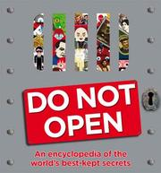 Cover of: Do not open