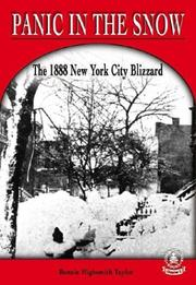 Cover of: Panic in the Snow: The 1888 New York City Blizzard (Cover-to-Cover Chapter 2 Books: Natural Disasters)