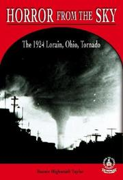 Cover of: Horror from the Sky: The 1924 Lorain, Ohio Tornado (Cover-to-Cover Chapter 2 Books: Natural Disasters)