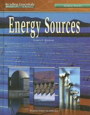 Cover of: Energy Sources