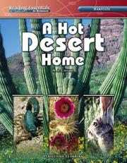 Cover of: A Hot Desert Home