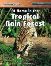 Cover of: At Home in the Tropical Rain Forest