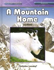 Cover of: A Mountain Home