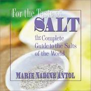 Cover of: The Salt Book | Marie Nadine Antol