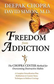 Cover of: Freedom from Addiction | Deepak Chopra