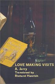 Cover of: Love Making Visits