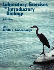 Cover of: Laboratory Exercises for Introductory Biology | University Of Massachusetts