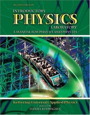 Cover of: Introductory Physics Laboratory | Kettering University