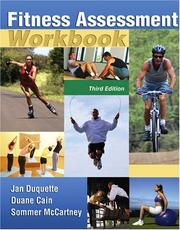 Cover of: Fitness Assessment Workbook | Jan Duquette