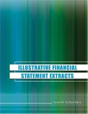 Cover of: Illustrative Financial Statement Extracts | Arnold Schneider