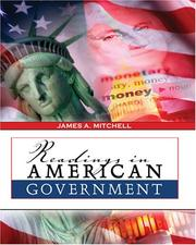Cover of: Readings In American Government