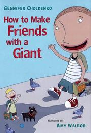 Cover of: How to make friends with a giant