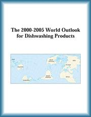 Cover of: The 2000-2005 World Outlook for Dishwashing Products (Strategic Planning Series) | Research Group