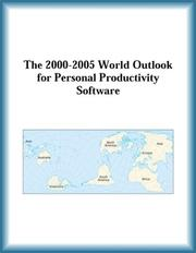 Cover of: The 2000-2005 World Outlook for Personal Productivity Software (Strategic Planning Series) | Research Group