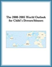 Cover of: The 2000-2005 World Outlook for Child