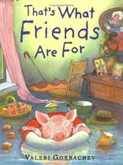 Cover of: That's what friends are for