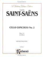 Cover of: Cello Concerto No. 2, Op. 119