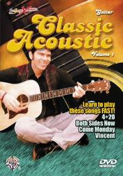 Cover of: Classic Acoustic (Songxpress)