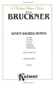 Cover of: Seven Sacred Hymns, Kalmus Edition